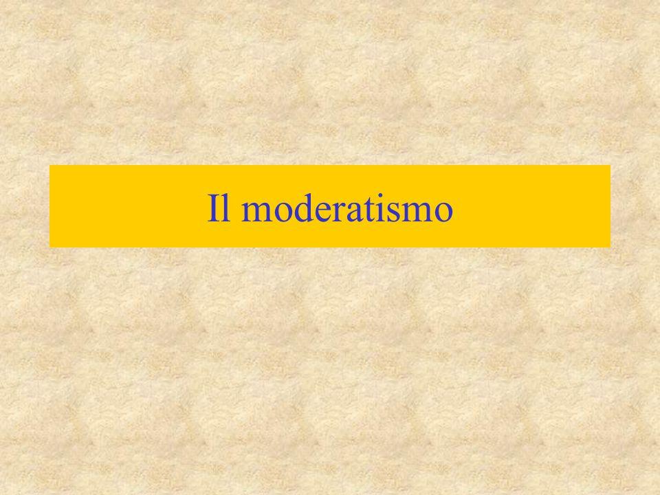 Il moderatismo