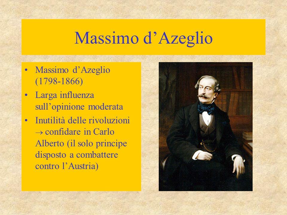 Massimo d'Azeglio Massimo d'Azeglio (1798-1866)