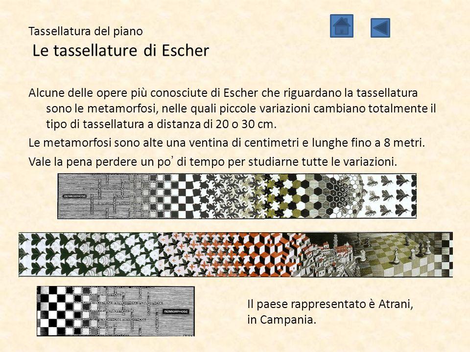 Tassellatura del piano Le tassellature di Escher