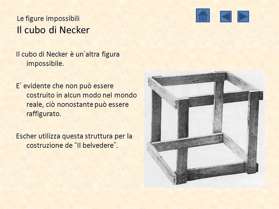 Le figure impossibili Il cubo di Necker