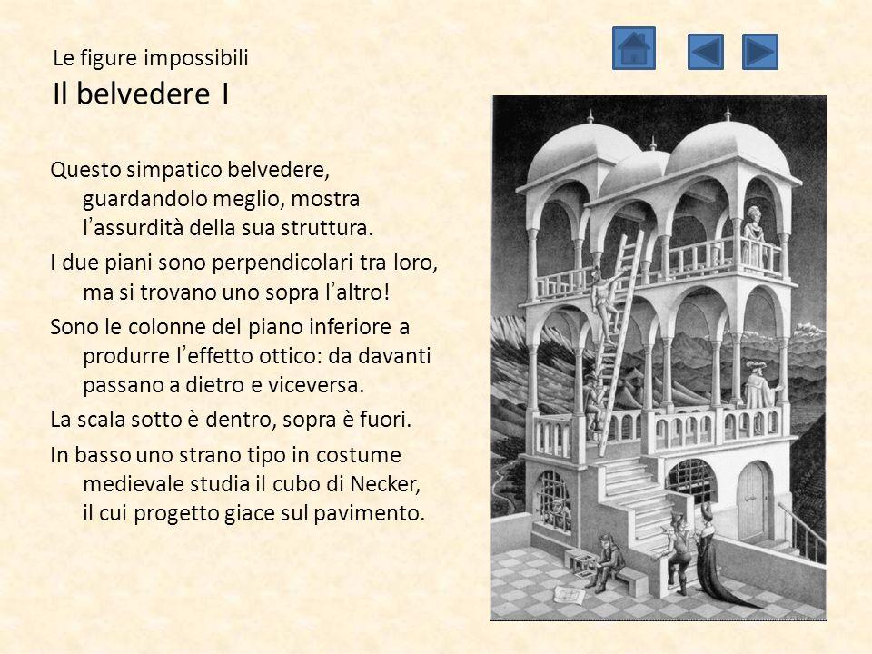 Le figure impossibili Il belvedere I