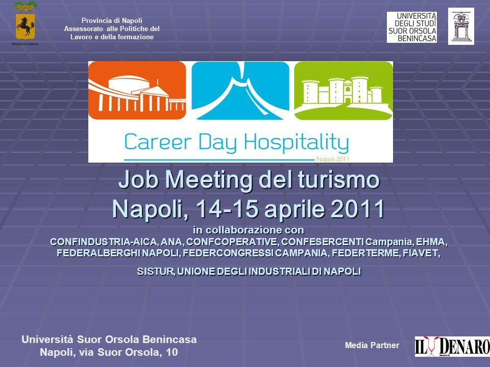 Provincia di Napoli Assessorato alle Politiche del Lavoro e della formazione.