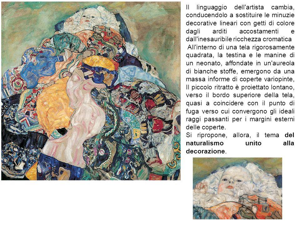 Il linguaggio dell artista cambia, conducendolo a sostituire le minuzie decorative lineari con getti di colore dagli arditi accostamenti e dall inesauribile ricchezza cromatica