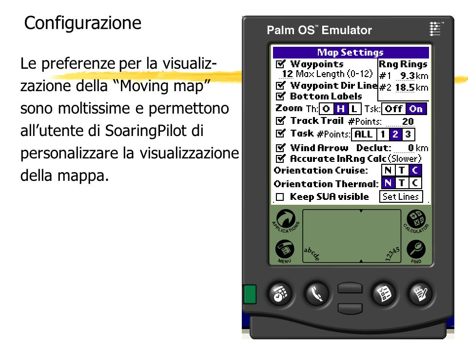 Configurazione Le preferenze per la visualiz-