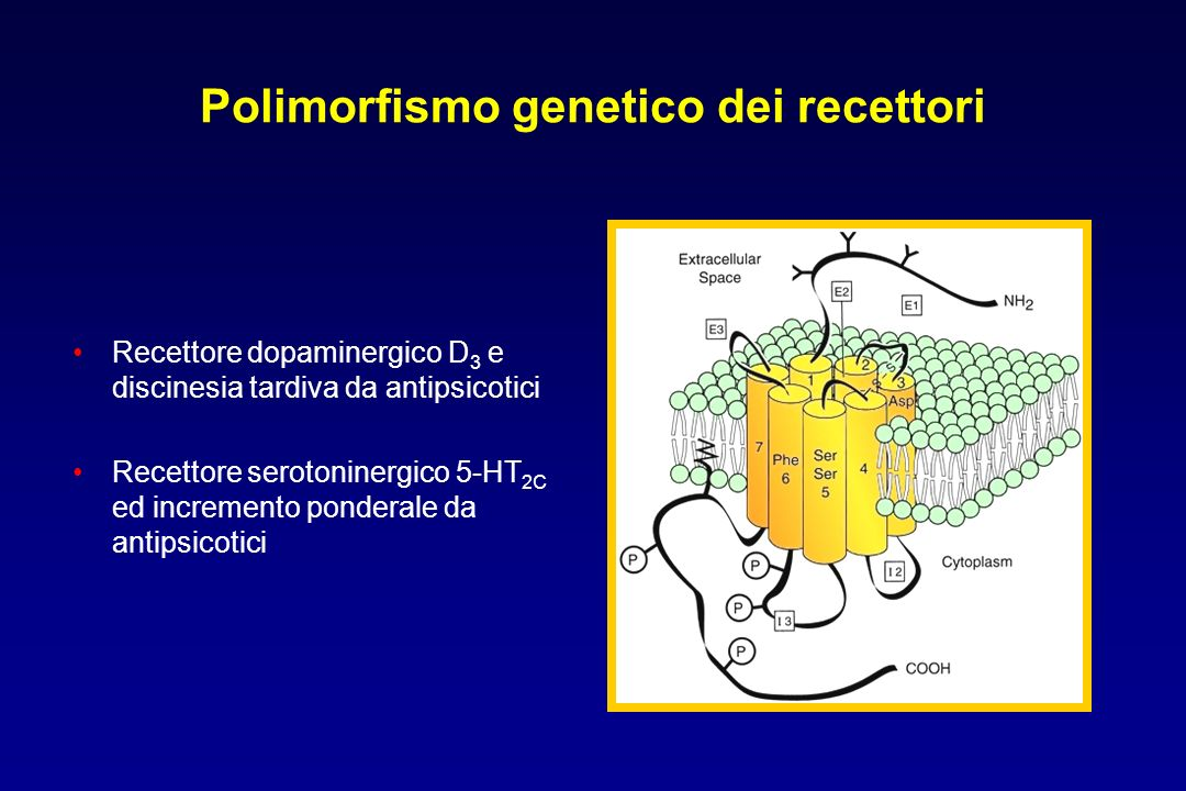 Polimorfismo genetico dei recettori