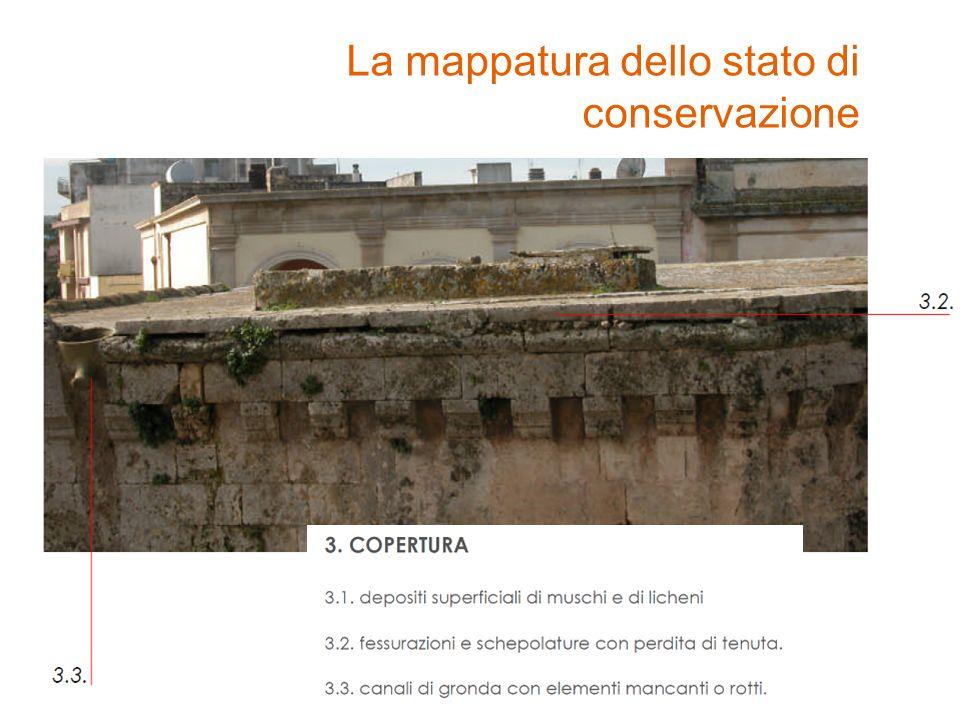 La mappatura dello stato di conservazione