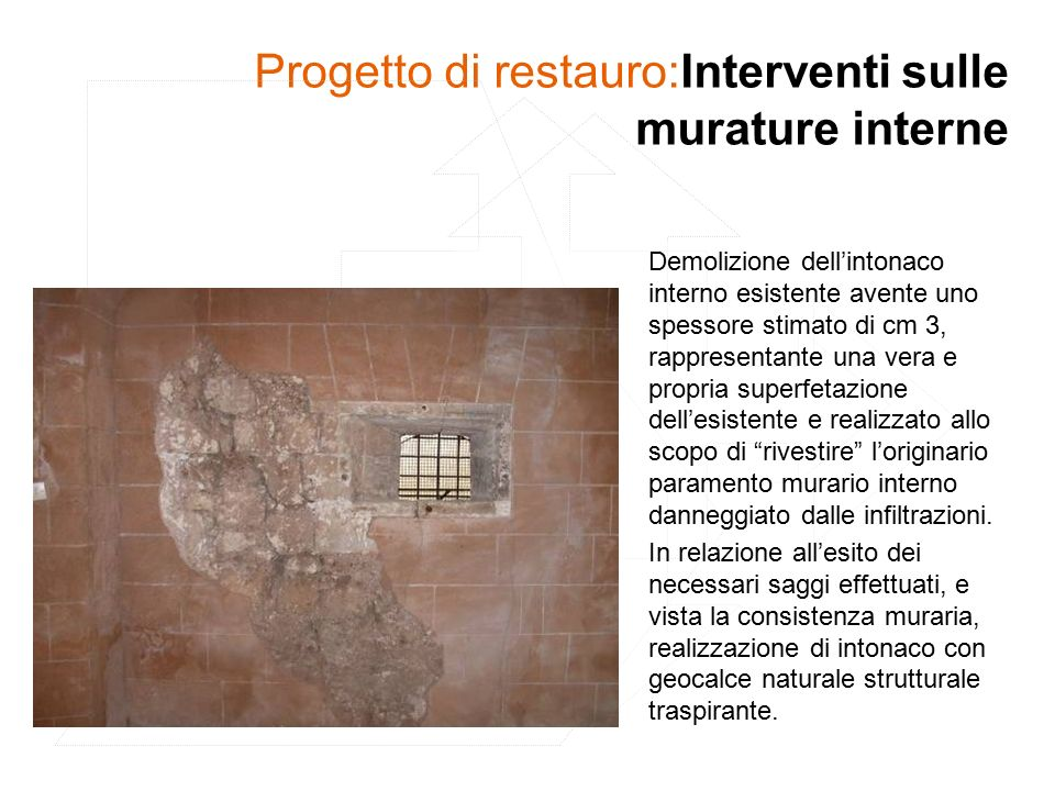 Poin programma operativo interregionale fers ppt scaricare - Spessore intonaco interno ...