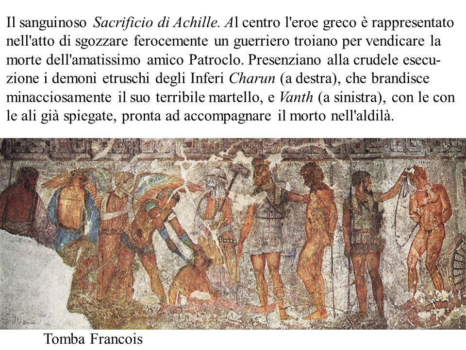 Il sanguinoso Sacrificio di Achille
