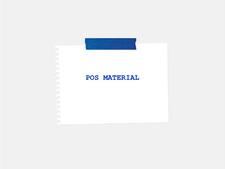 POS MATERIAL