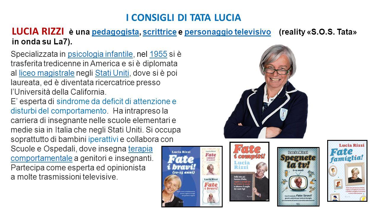I CONSIGLI DI TATA LUCIA