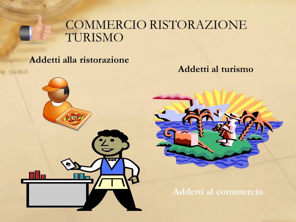 COMMERCIO RISTORAZIONE TURISMO