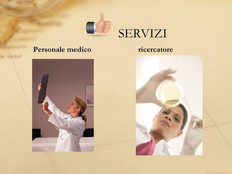 SERVIZI Personale medico ricercatore
