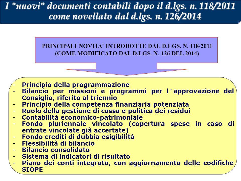 I nuovi documenti contabili dopo il d. lgs. n