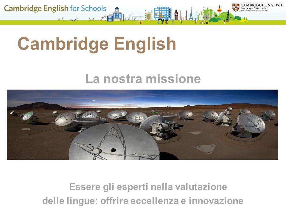 delle lingue: offrire eccellenza e innovazione