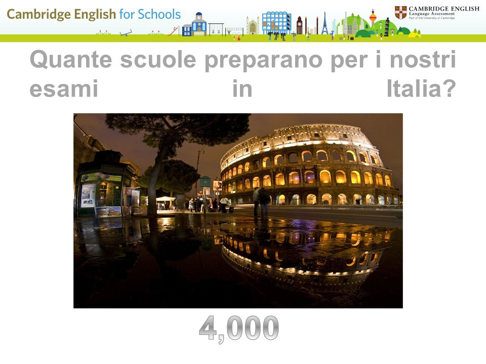 Quante scuole preparano per i nostri esami in Italia