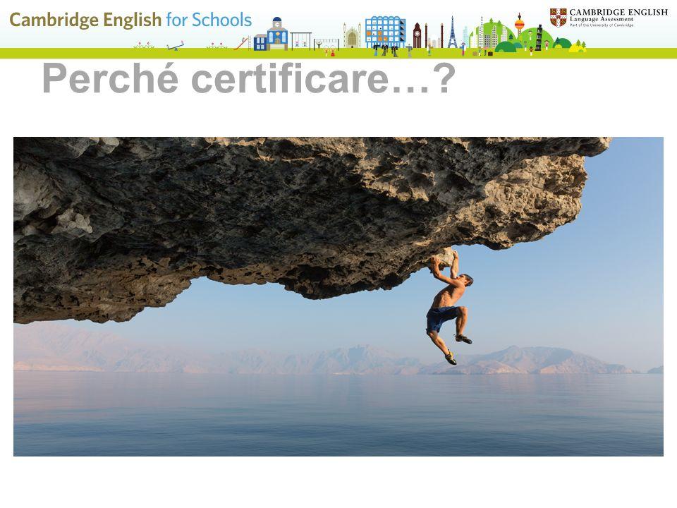Perché certificare… Vediamo, innanzitutto, in generale, perché è importante certificare la conoscenza della lingua inglese.