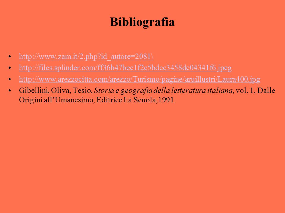 Bibliografia http://www.zam.it/2.php id_autore=2081\