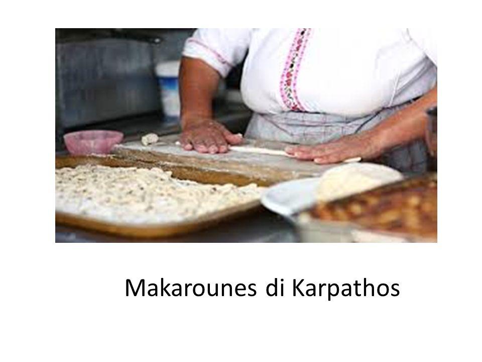 Makarounes di Karpathos