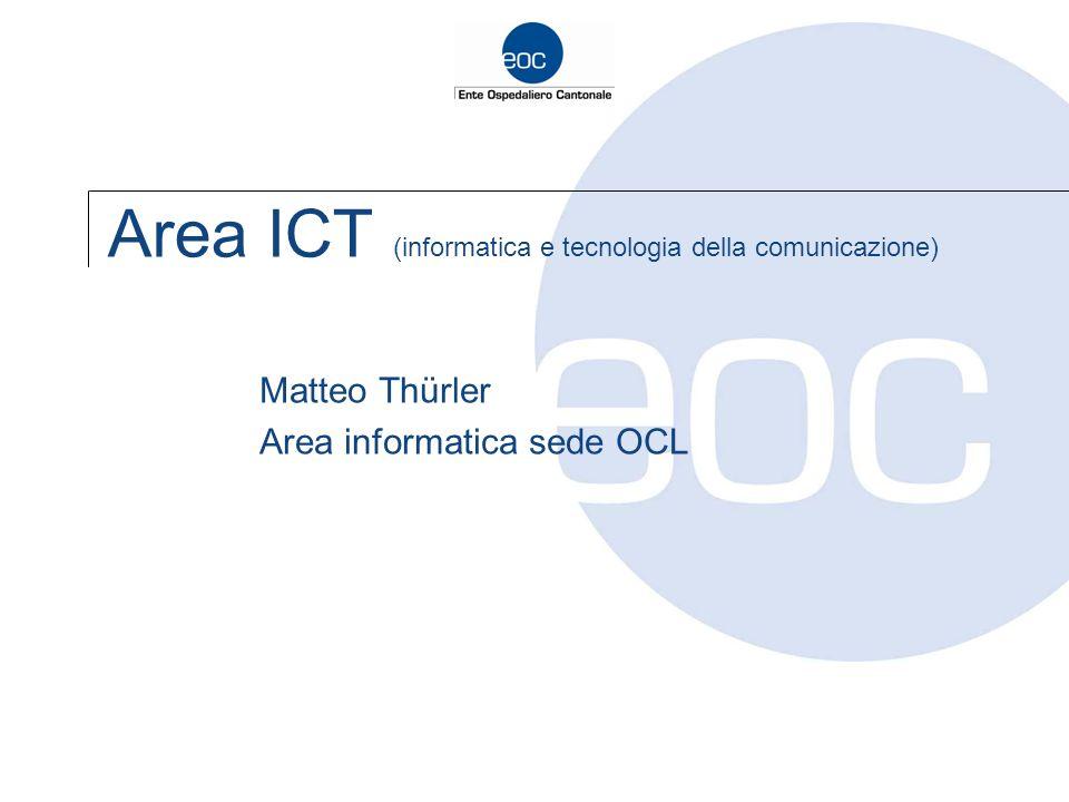 Area ICT (informatica e tecnologia della comunicazione)