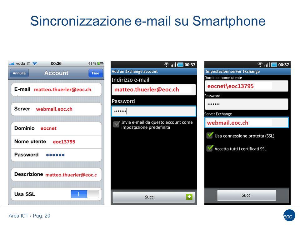 Sincronizzazione e-mail su Smartphone