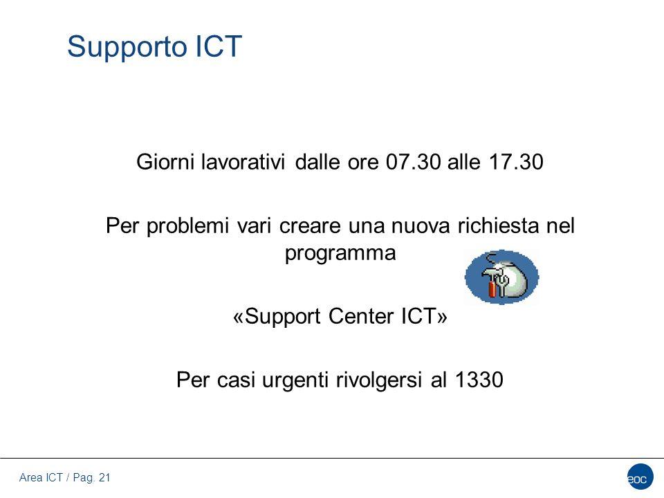 Supporto ICT