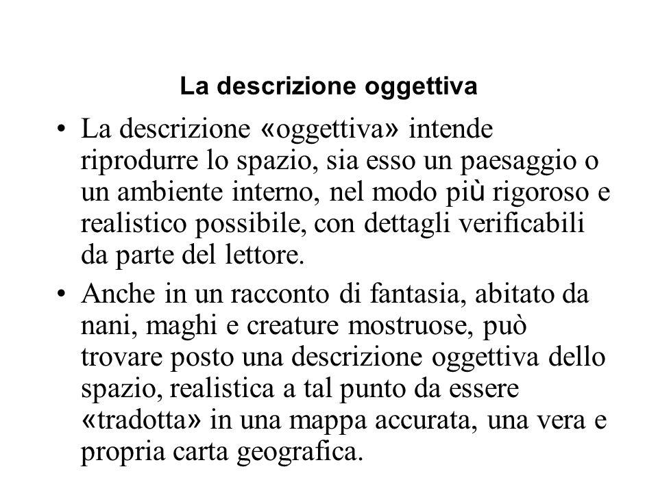 La descrizione oggettiva