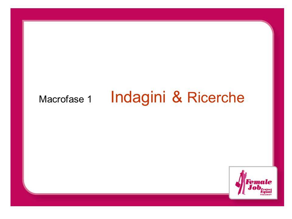 Macrofase 1 Indagini & Ricerche