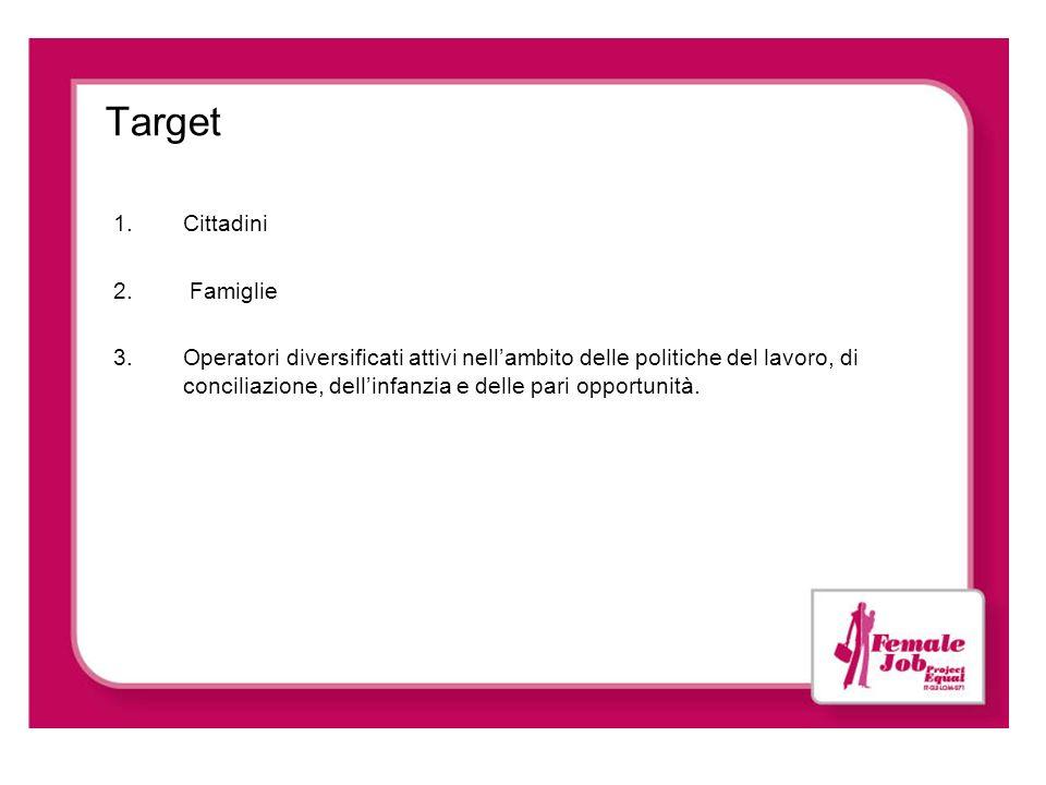 Target Cittadini Famiglie
