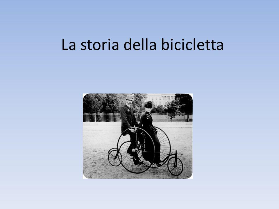 La storia della bicicletta