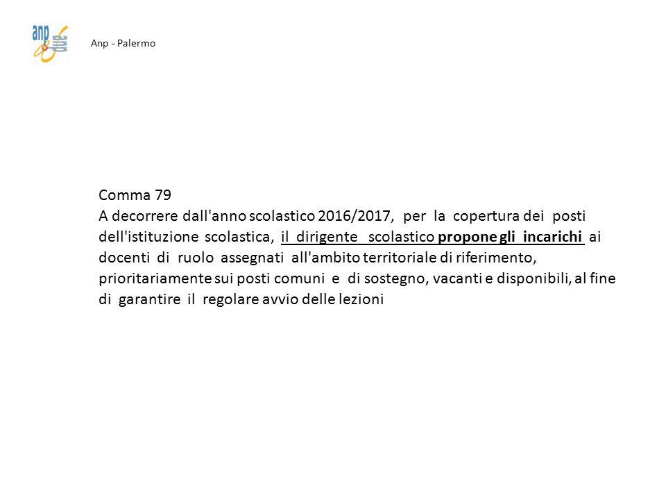 Anp - Palermo Comma 79.