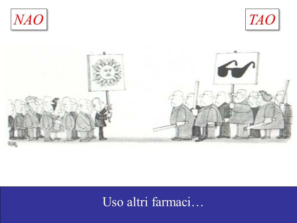 NAO TAO Uso altri farmaci… Go, A. S. et al. JAMA 2001;285:2370-2375.