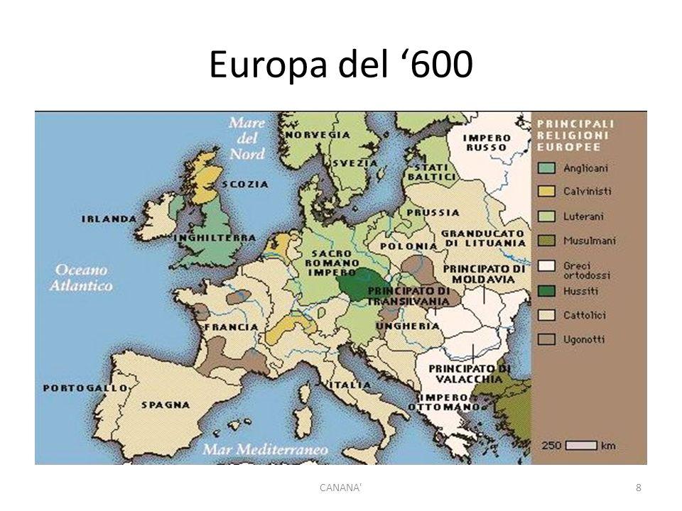 Europa del '600 CANANA