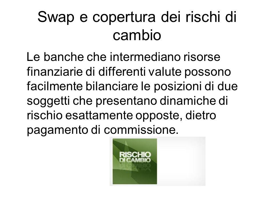 Swap e copertura dei rischi di cambio