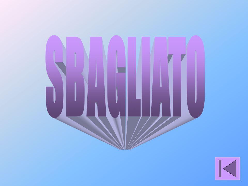 SBAGLIATO