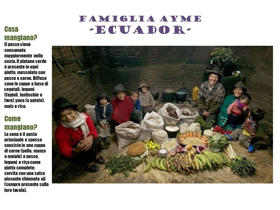 Famiglia ayme -ecuador-