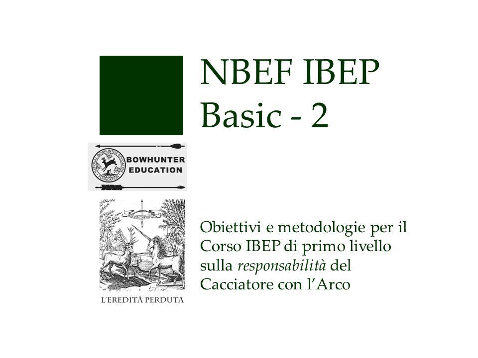 NBEF IBEP Basic - 2 Obiettivi e metodologie per il