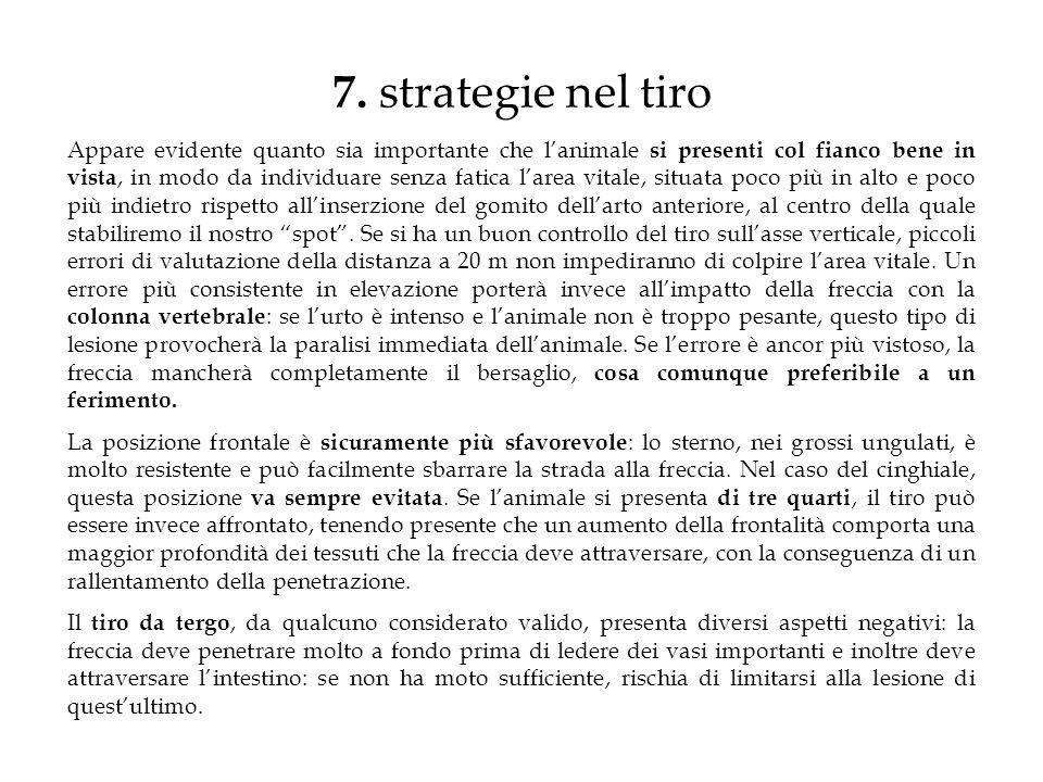 7. strategie nel tiro