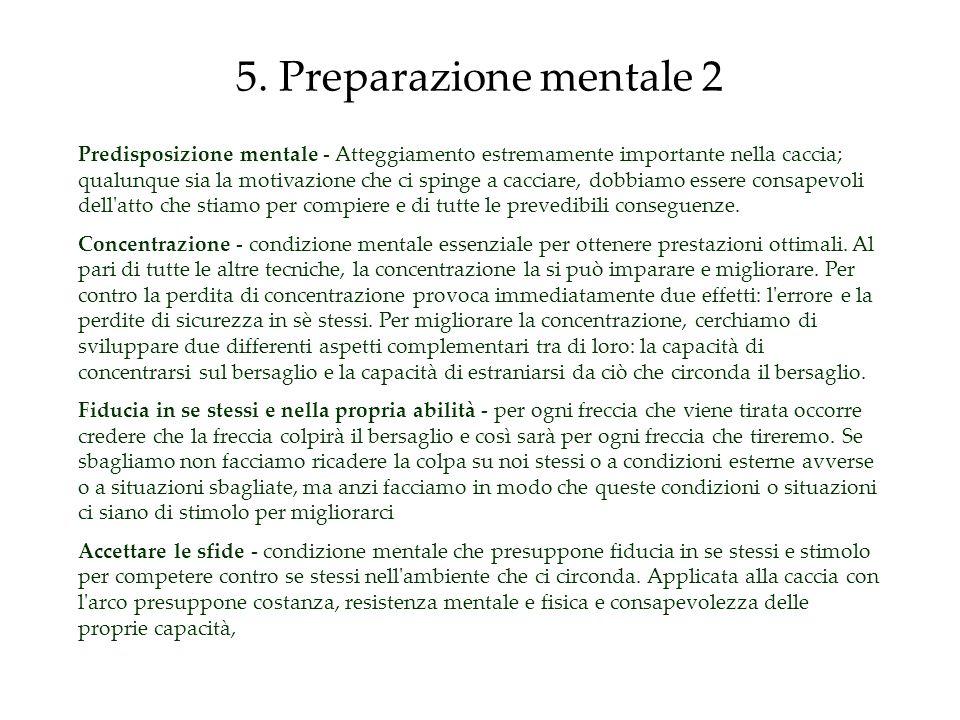 5. Preparazione mentale 2