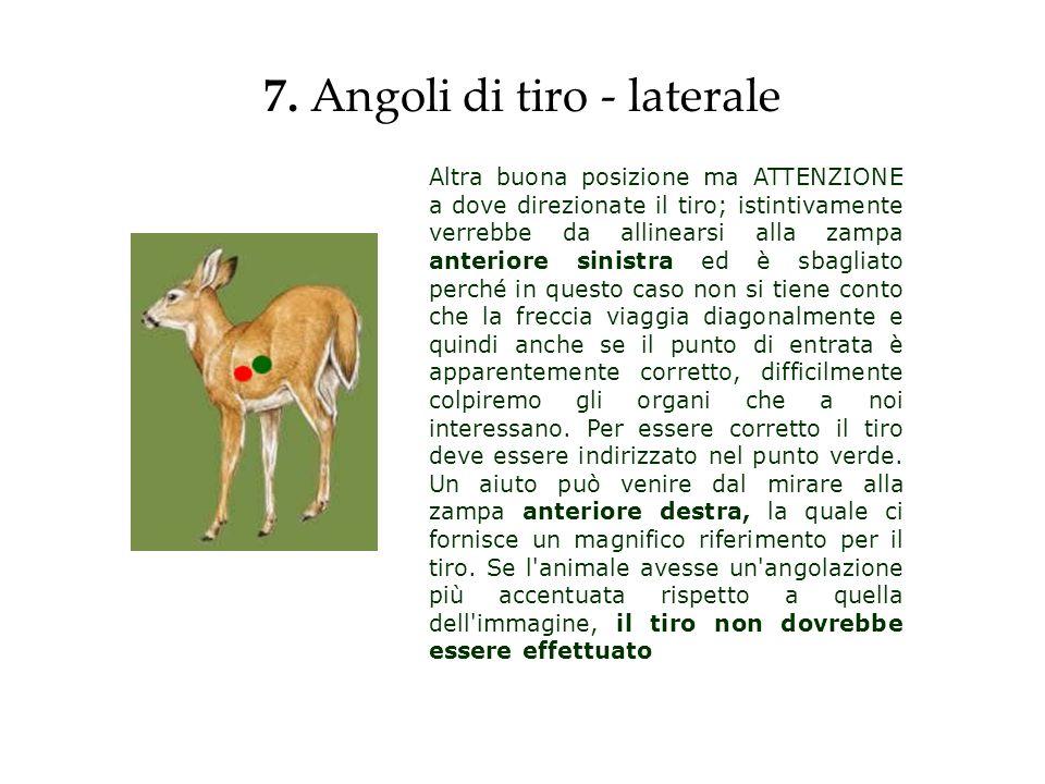 7. Angoli di tiro - laterale