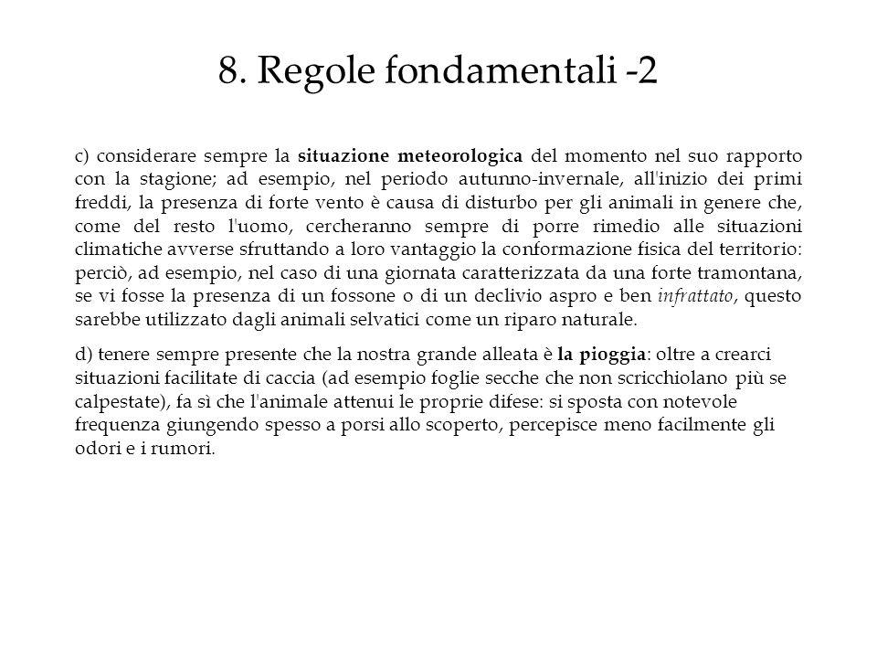 8. Regole fondamentali -2