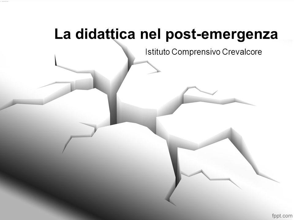 La didattica nel post-emergenza