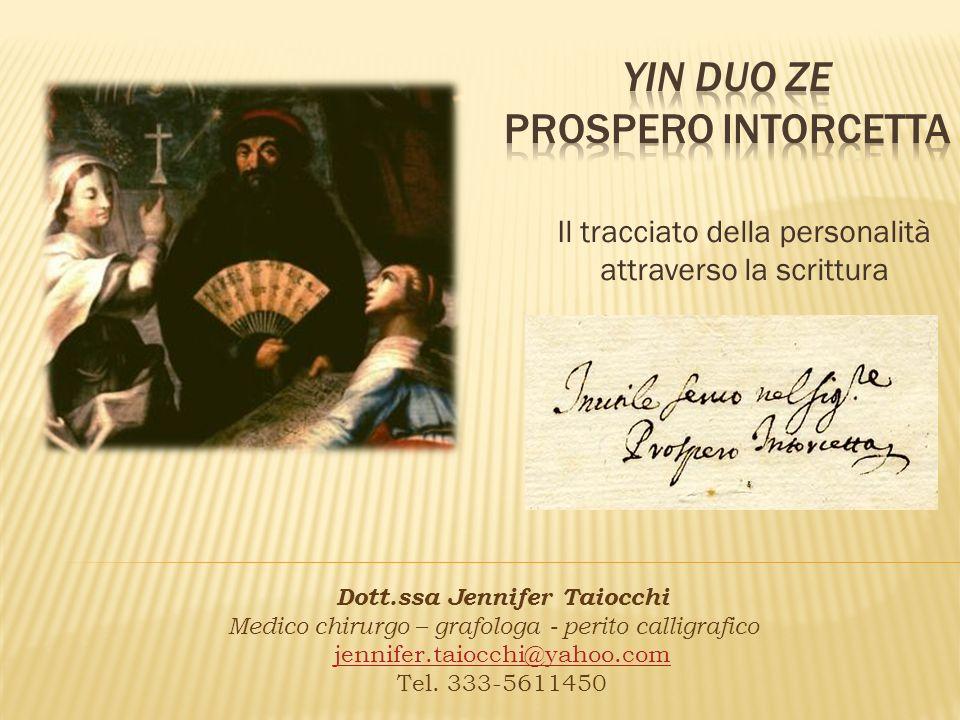 Yin duo ze Prospero intorcetta