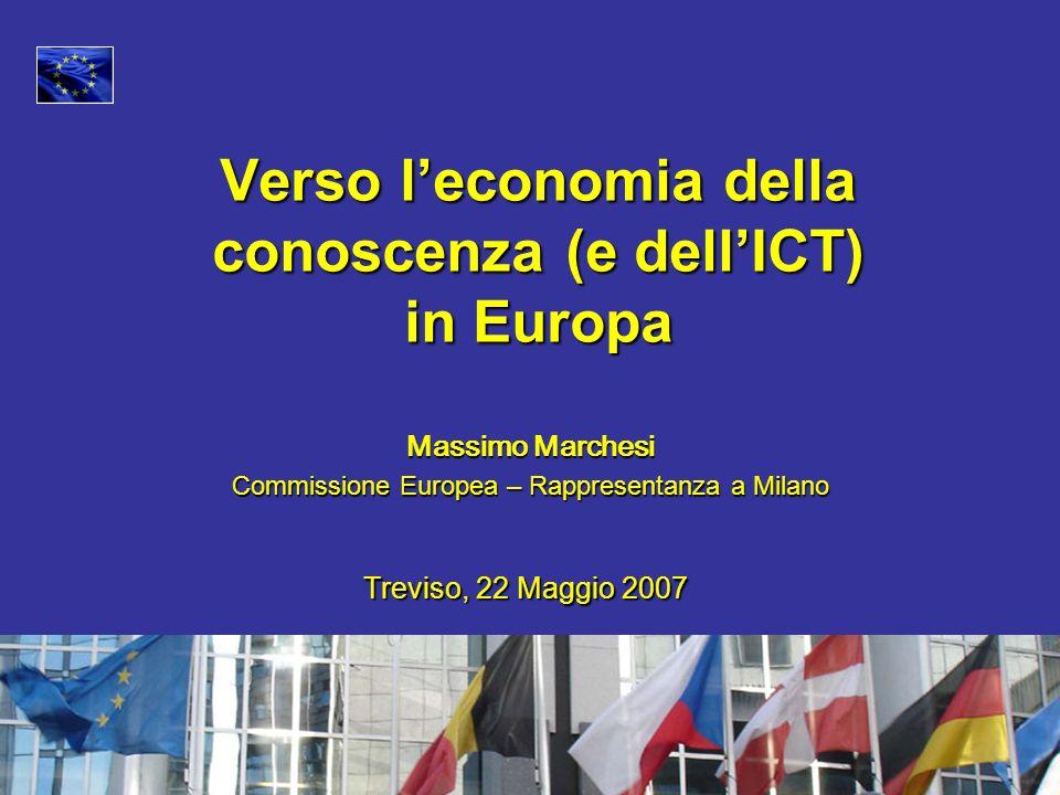 Verso l'economia della conoscenza (e dell'ICT) in Europa