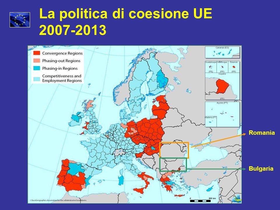 La politica di coesione UE 2007-2013