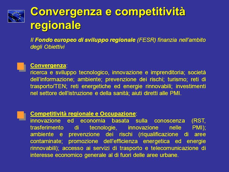 Convergenza e competitività regionale