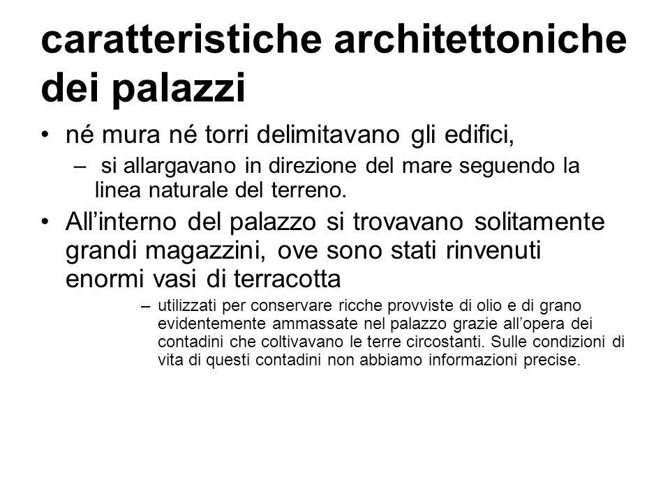 caratteristiche architettoniche dei palazzi
