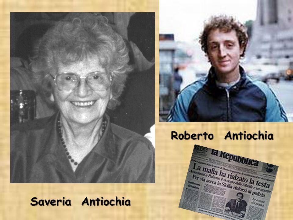 Roberto Antiochia Saveria Antiochia