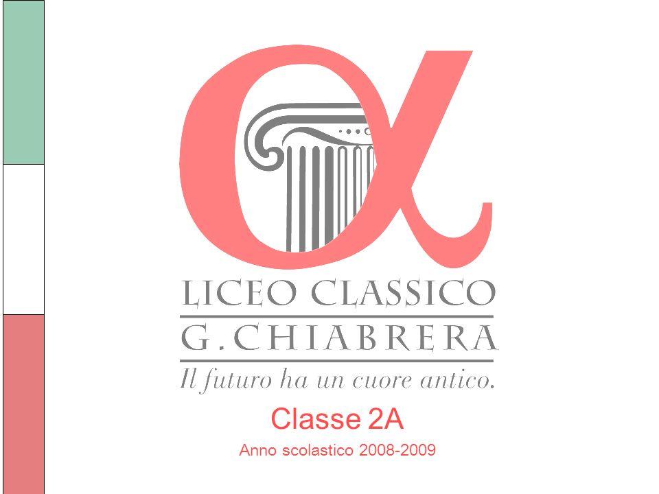 Classe 2A Anno scolastico 2008-2009