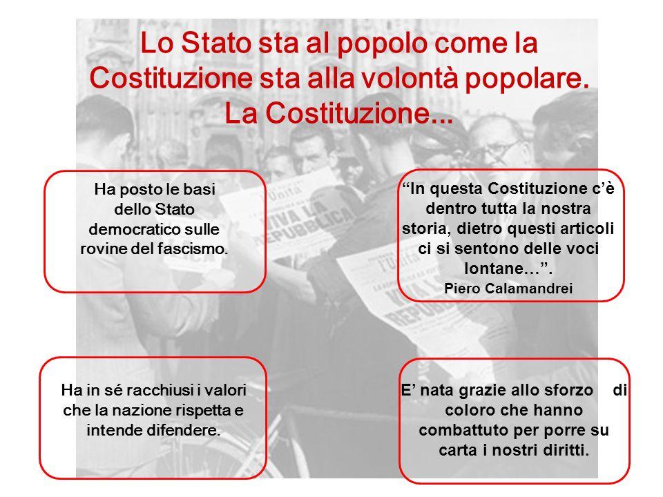 Ha posto le basi dello Stato democratico sulle rovine del fascismo.