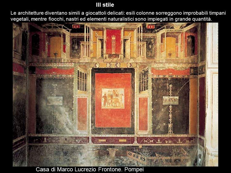 Casa di Marco Lucrezio Frontone. Pompei